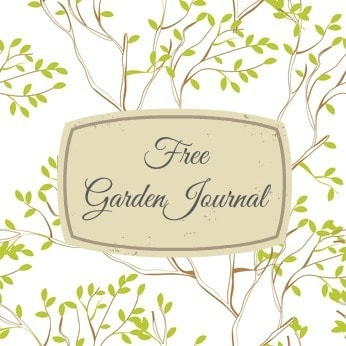 Free Garden Journal Template Home Garden Joy