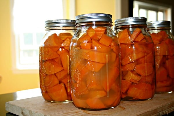 Canned Sweet Potatoes