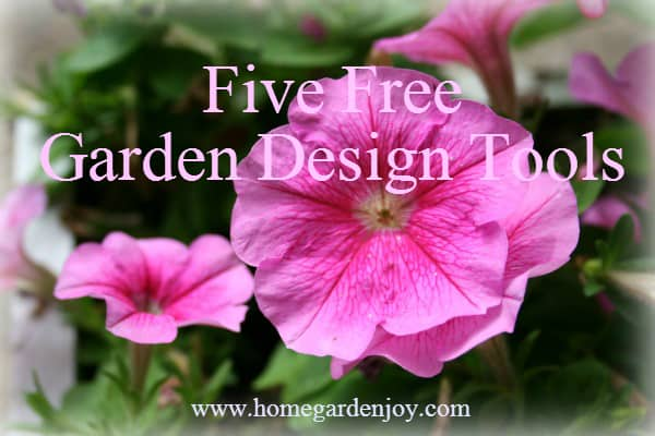 Five Free Garden Design Templates