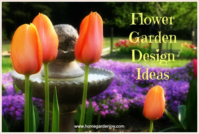 Flower Garden Design 1 of 14 Flower Garden Design Ideas