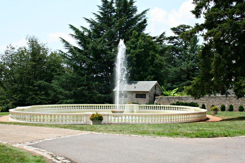 fountain at Maymont