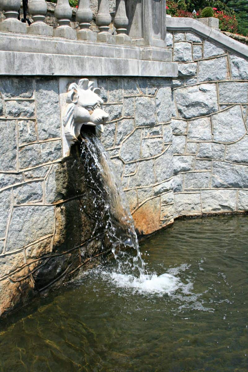 Water fountains virginia - Lion Fountain Cascade Maymont