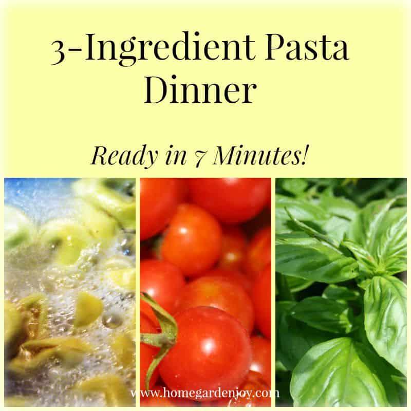 pasta dinner recipe