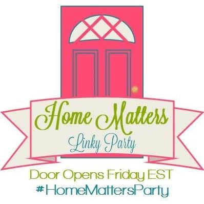Home Matters Linky Party #90