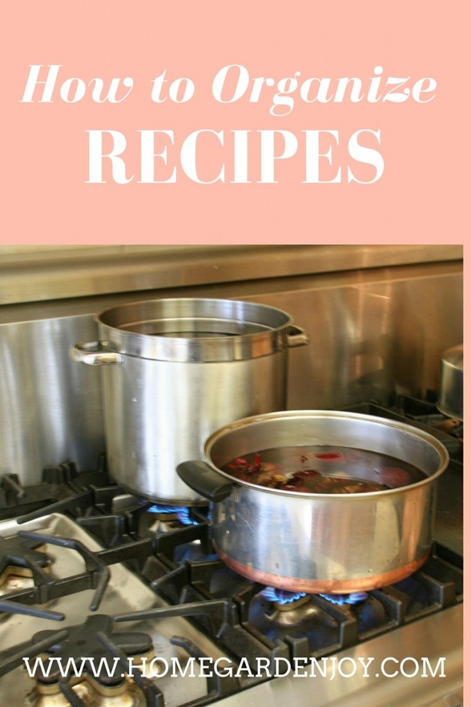 Party - Jeanne Grunert - How to Organize Recipes