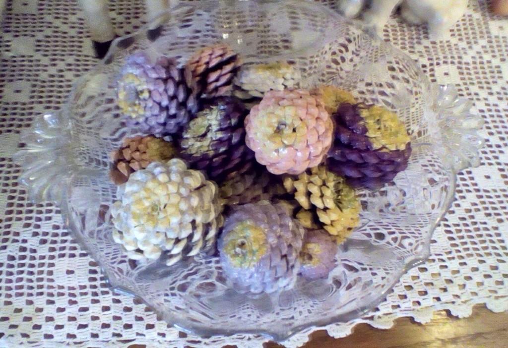 zinnia pinecones