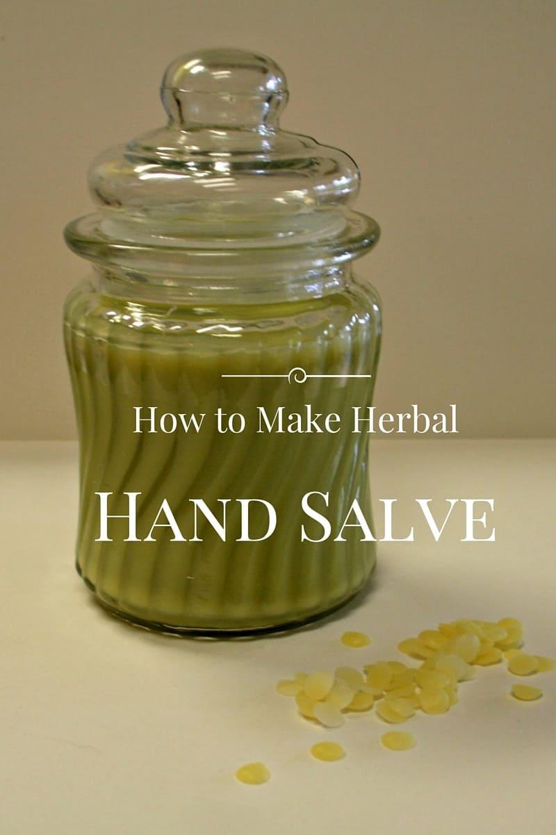 Recipe for Herbal Hand Salve