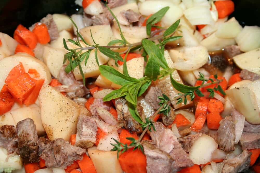 leftover lamb stew recipe