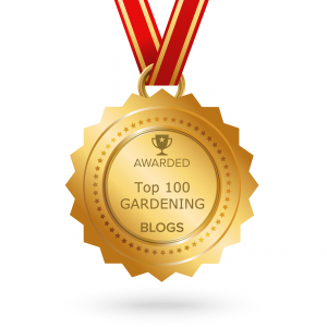 Voted One of the Top 100 Garden Blogs