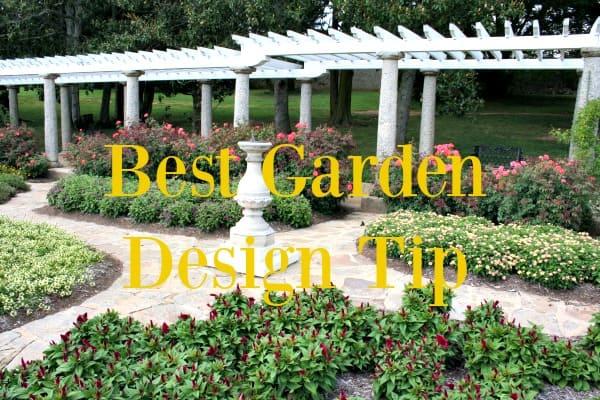 best-garden-design-tip