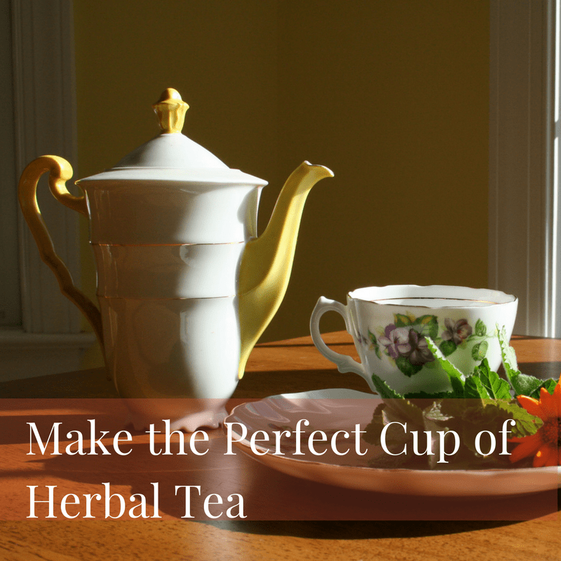 make the perfect cup of herbal tea