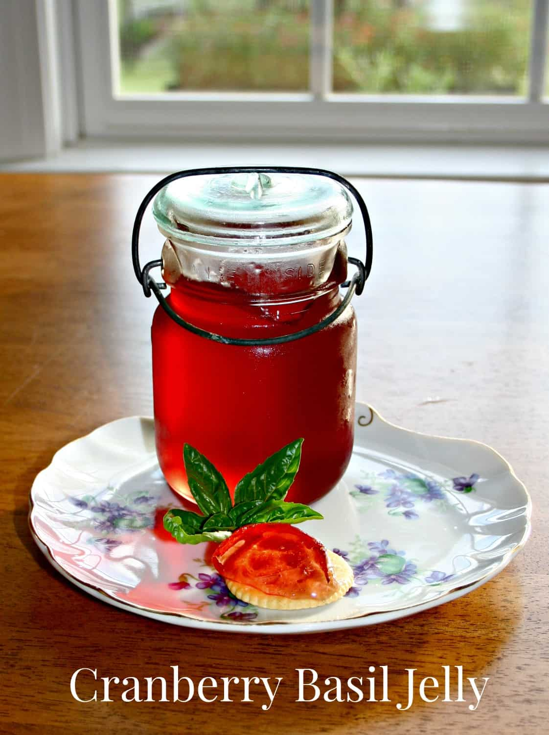 Cranberry Basil Jelly Recipe