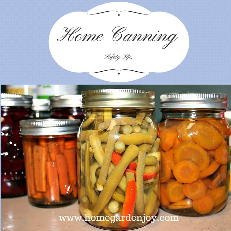 home canning safety tips