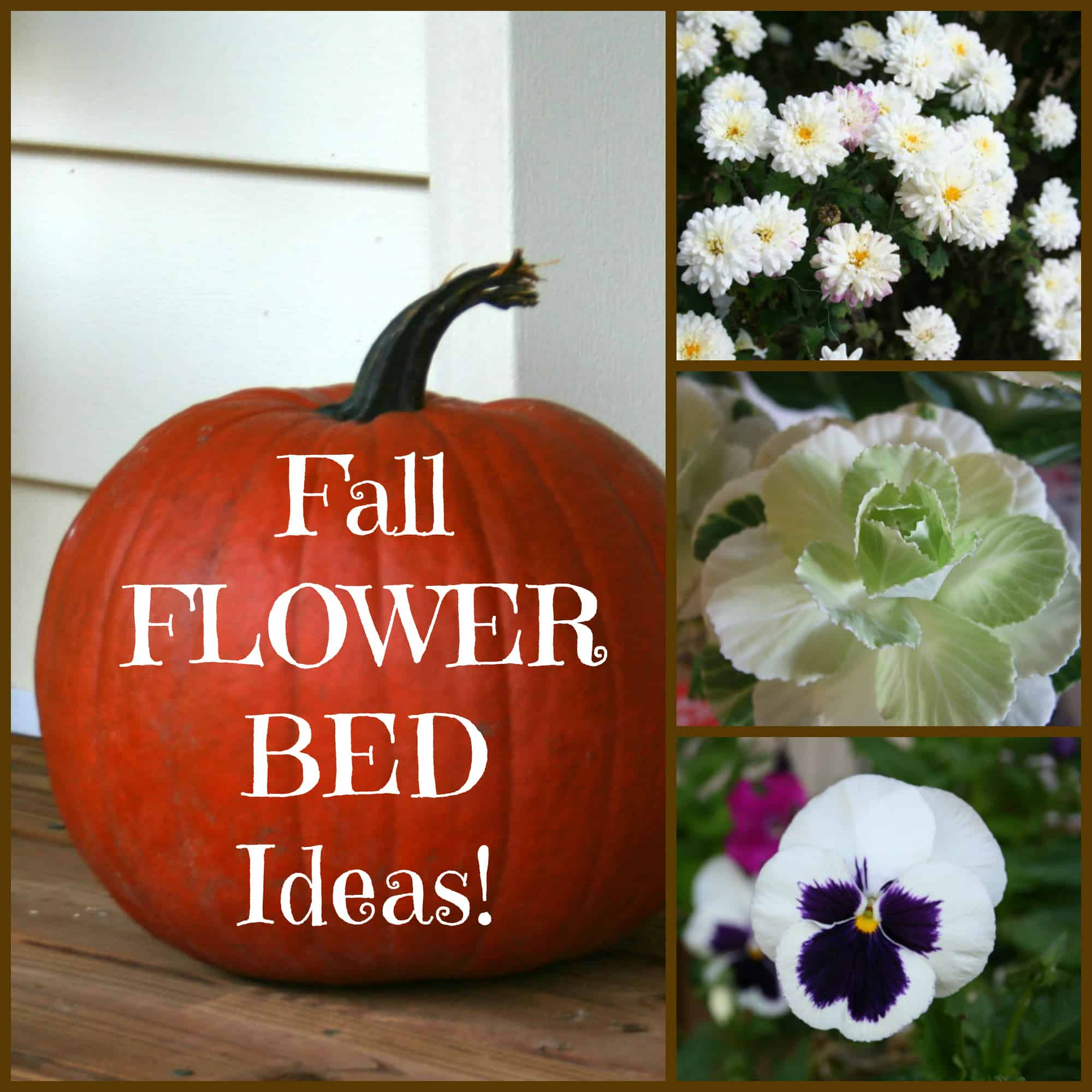 Fall Garden Ideas Part - 39: Fall Flower Bed Ideas