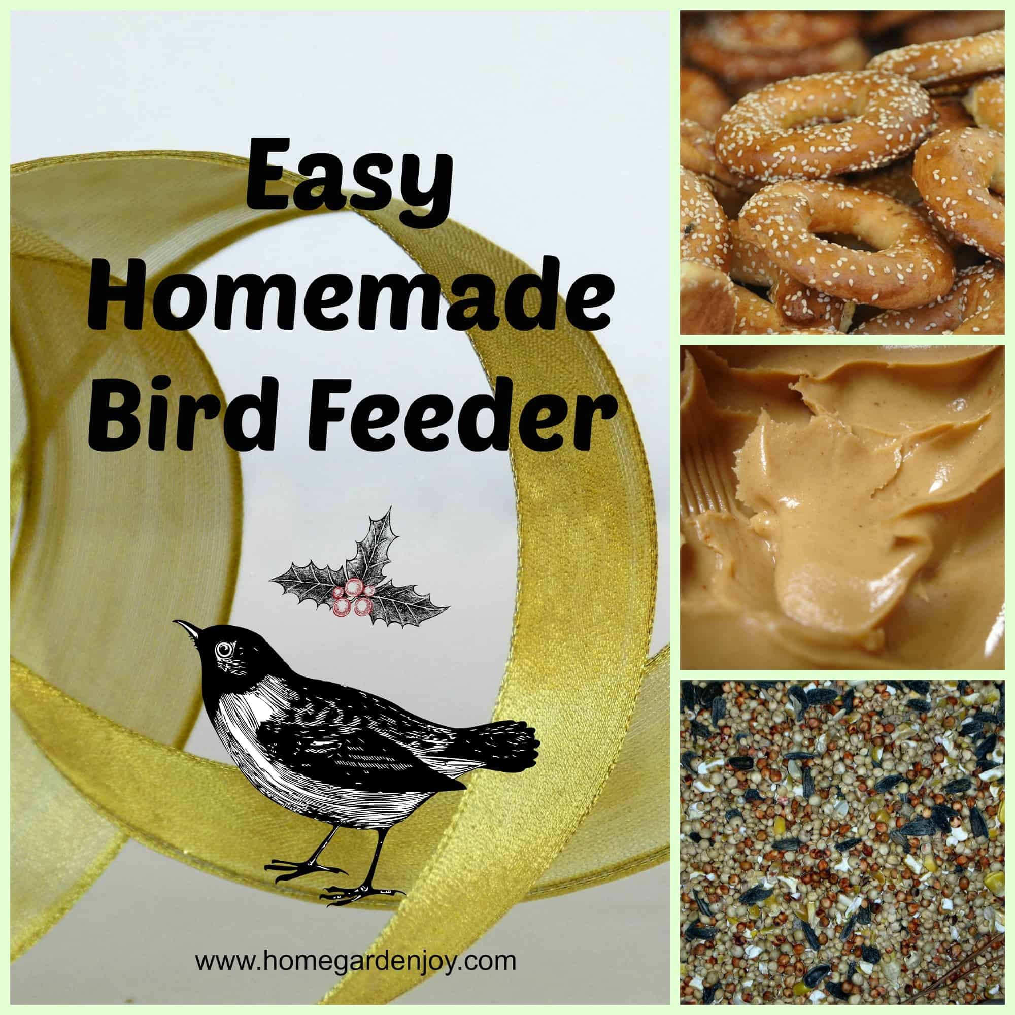 how to build a cage around a bird feeder