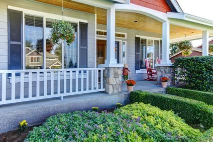 small front yard landscaping pictures home garden joy. Black Bedroom Furniture Sets. Home Design Ideas