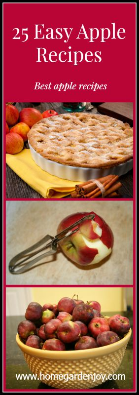 25 Easy Apple Recipes for Fall