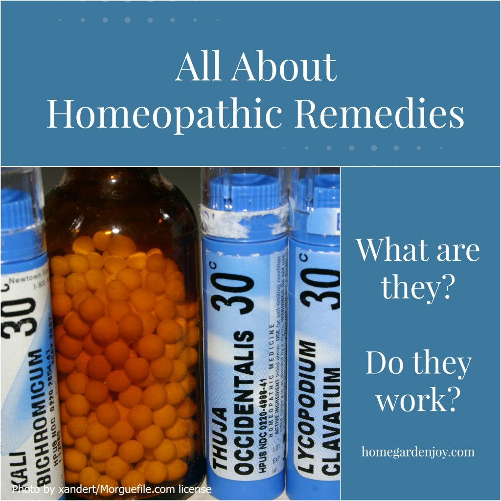 homeopathic remedies Homeopathic remedies are extremely dilute substances, which may be from the plant, mineral or animal kingdoms, that are used to treat many types of disease process.