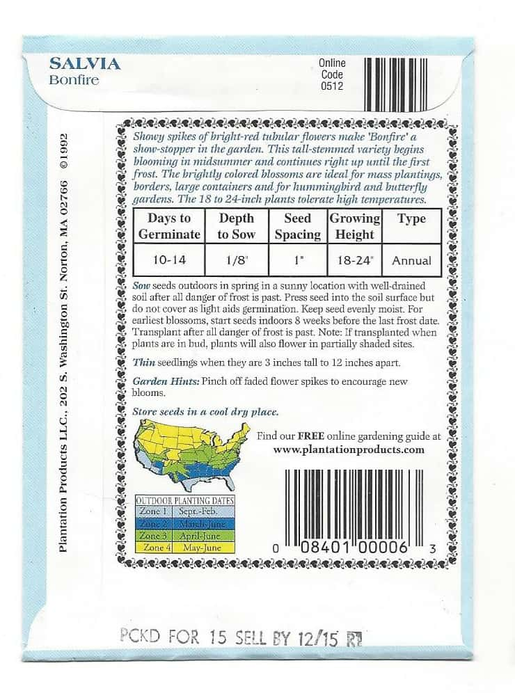 How to Read the Back of a Seed Package - Home Garden Joy