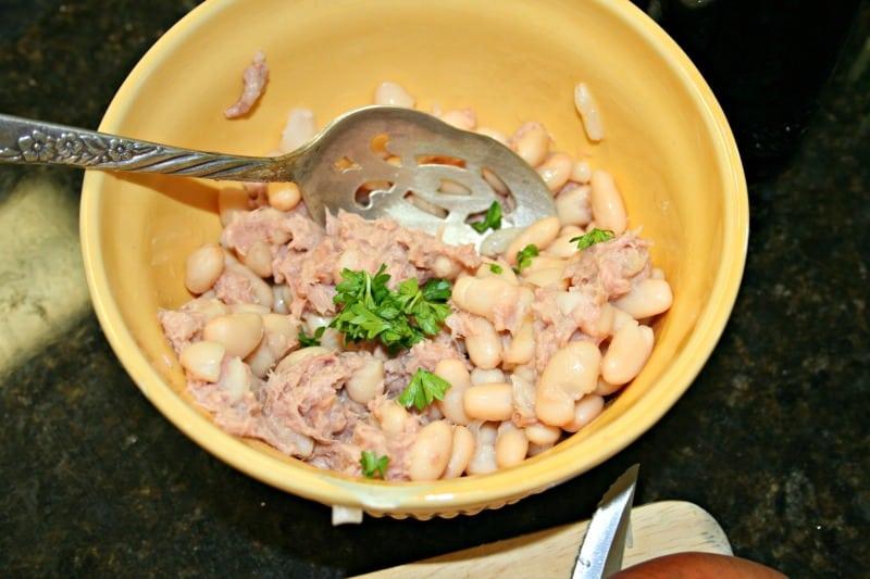 Tuscan bean salad 1