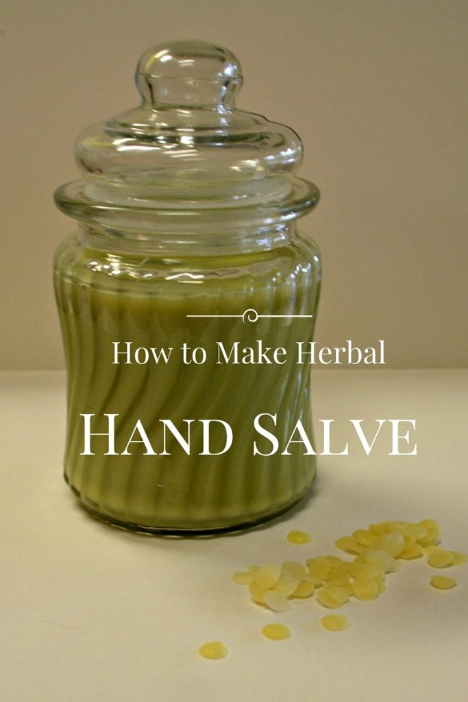How to Make Herbal Hand Salve