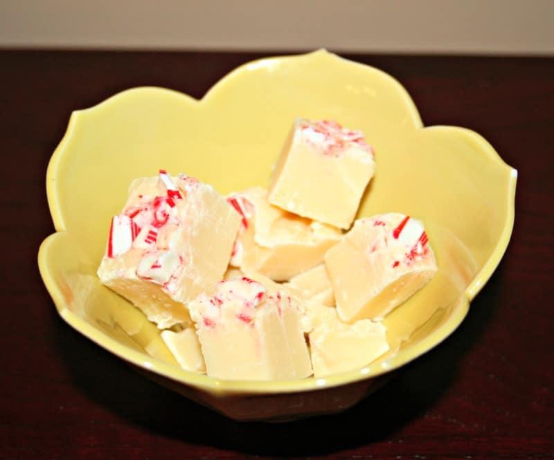 vanilla peppermint fudge