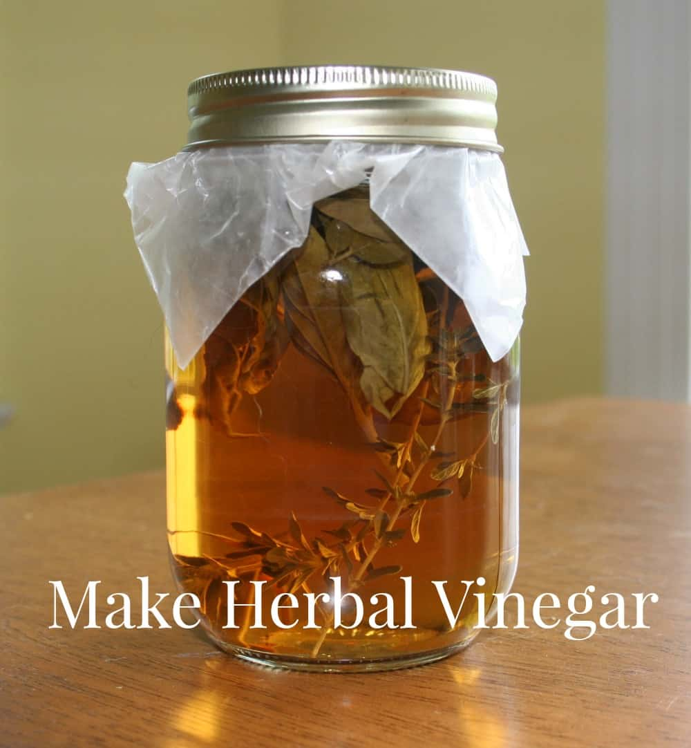 How to Make Herbal Vinegar