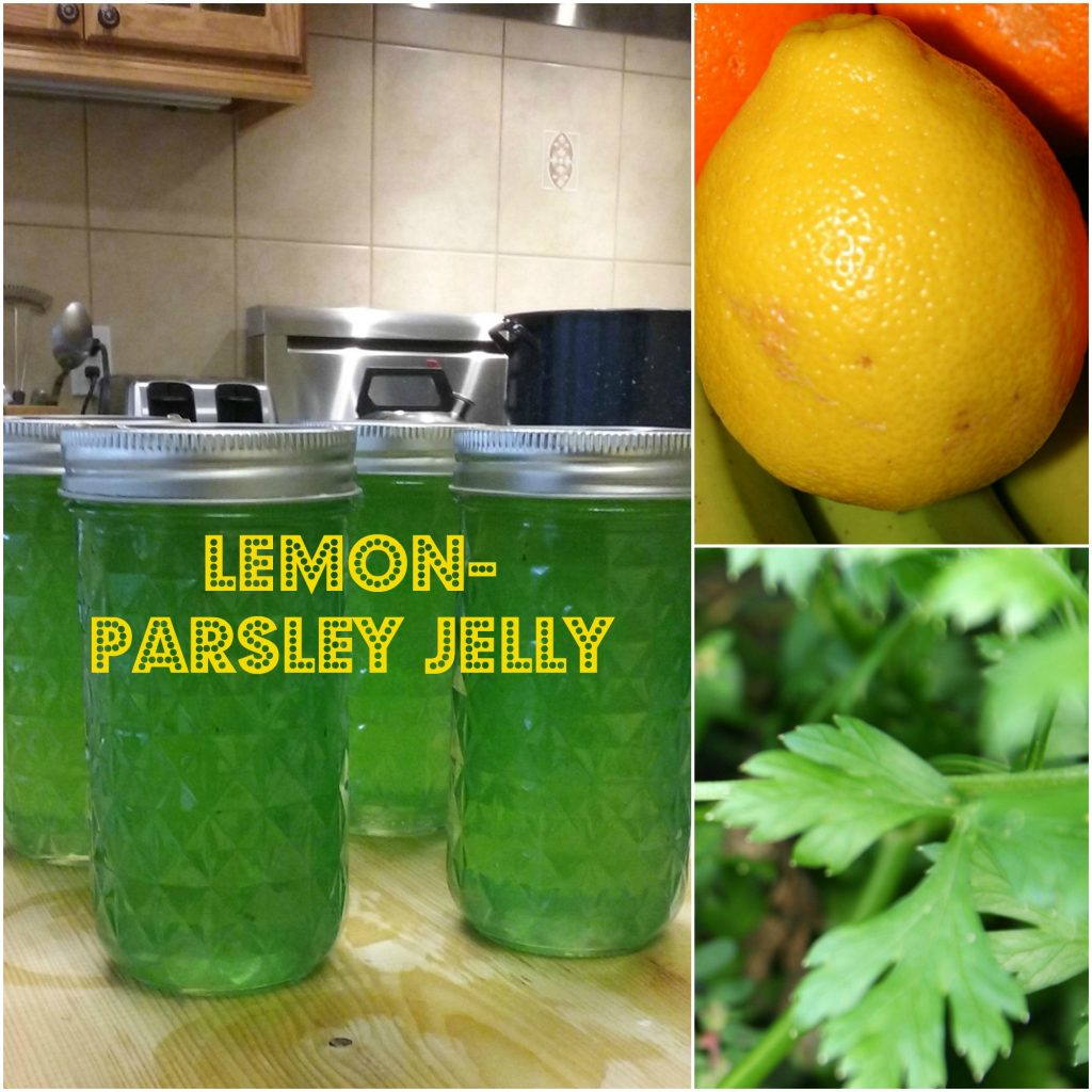 lemon parsley jelly