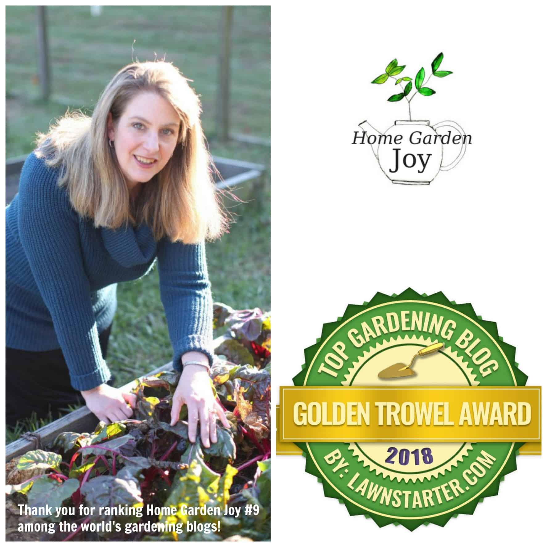 home garden joy 2018 winner - Garden Joy