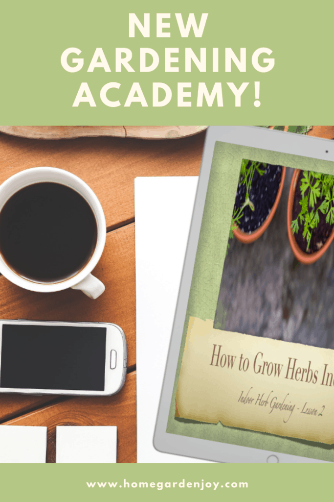 ad for new gardening academy
